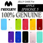 GENUINE MERCURY GLITTER PEARL JELLY CASE TPU GEL SKIN COVER fr APPLE IPHONE 5 5G