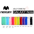 GENUINE MERCURY JELLY CASE COVER for SAMSUNG GALAXY NOTE N7000 i9220 / LTE i717