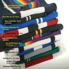 Knitted Stripe Fabric, Stretch Rib Material, 11 New Colours by the Metre