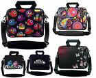 """10"""" to 17.6"""" Netbook Laptop Case Bag Cover Pouch With Handle & Shoulder Strap"""