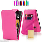 New PU Leather Book Wallet Case Cover For HTC One X + Screen Protector + Stylus <br/> Fast Delivery FREE SCREEN PROTECTOR &amp; STYLUS UK Seller