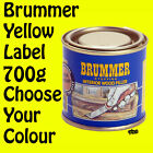 Brummer Yellow Label Interior Stopping Wood Filler Medium 700g - All 15 Colours