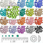 PROMO 144 Pcs Crystal Ronde Flat Strass Rhinestones SS6/8/10/12 Art d'Ongle