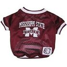 Mississippi State Bulldogs NCAA Pet Dog Jersey (sizes)
