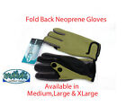 Mukluks Neoprene gloves Split finger/Thumb fold back Available in Med,Large & XL