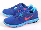 Nike Wmns LunarGlide+ 3 Blue/Red-Volt Light Lunarlon Running Womens 454315-467