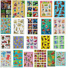 HUGE SELECTION Character STICKERS ~ Birthday Party FAVORS Scrapbooking Supplies