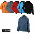 James & Nicholson Herren Jacke Winter Softshell JN1000 Wasserdicht