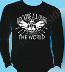 Status Quo Inspired Long Sleeve T-Shirt Rocking All Over The World Status Quo