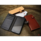 LIM'S Premium Genuine Leather Edition Diary Type Cover Case for iPhone 5 5S