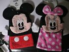 MIMNNIE MOUSE~PINK~Face~OR~MiCkEy MoUsE~FaCe~PuPPeT~8 x 5~BATH MITT~Disney Store