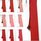 """Grosgrain Ribbon 3-1/2"""" /89mm. WhoLesale 100 Yards, Rose to Red s coLor"""