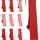 "Grosgrain Ribbon 3-1/2"" /89mm. Wholesale 100 Yards, Rose to Red s color"
