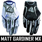 MENS SHOT FLEXOR MOTOCROSS MX GLOVES NEW TAG BLACK WHITE BLUE gants enduro bike