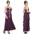 Ever Pretty Womens Long Purple Blue Maxi Evening Formal Bridesmaid Dresses 09049