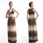 Ever Pretty Long Maxi Evening Formal Summer Beach Dress 09666 Size 8 10 12 14 16
