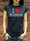 I Love Robbie T-Shirt Take That Robbie Williams Take The Crown Womens Kids C0065