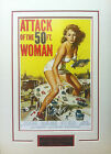 ATTACK OF THE 50FT WOMAN Mini Movie Poster 11x17 Matted or Framed
