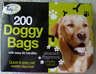 """DOG WASTE """"POOP"""" POO DOGGY BAGS FRAGRANCED WITH EASY TIE HANDLES CHOICE OF TYPE"""
