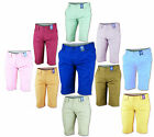 New Mens Cotton Chino Summer Casual Shorts Jeans Bottoms 28 30 32 34 36 38