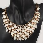 2013 Stylish Outfit Handmade Drop Resin Bead Bib Statement Necklace Collar Gift