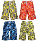 MENS  CROSSHATCH TAO SURF SUMMER FLORAL PRINT  SWIM SHORTS