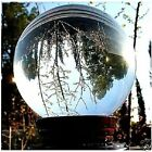 ASIAN QUARTZ CLEAR CRYSTAL BALL SPHERE 60mm-120mm+ STAND