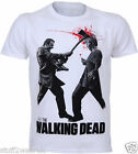 The Walking Dead Axe To Head  T Shirt  OFFICIAL S M L XL XXL White