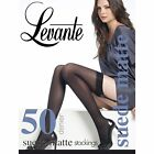 Levante suede matt opaque stockings