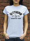 Slytherin Quidditch Tshirt Harry Potter Womens Mens Geek Gift T-Shirt L0344
