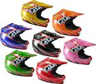 Childrens Kids MOTOCROSS & ATV Off Road Crash HELMET Bike BMX Quad Protection