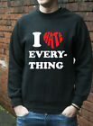 I Hate Everything Jumper Hoodie Funny Mens Womens Kids Gift Hoody J0463