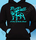 Pitbull Terrier  Pit bull Dog Mens Hoody Hoodie Womens A Pure And Noble Breed