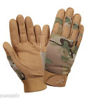 duty gloves multicam camo tactical softshell various sizes rothco 4426