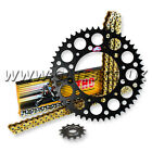HUSABERG FE390 FE 390 2010 - 2012 THC CHAIN AND BLACK RENTHAL SPROCKET KIT