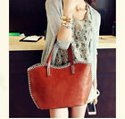 "A"" New Special European and American retro casual shoulder handbag female bag"