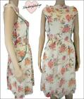 Ex stock Monsoon floral print chiffon lined spring / summer dress - NEW