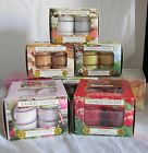 Yankee Candle 12 Scented Tea Light T/L Candles Candle Box Fragrance Fresh Floral