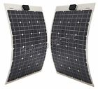 10W 20W 25W 40W 50W 80W 100W Semi-Flexible solar panel for RV boat waterproof
