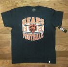 New Authentic Mens 47 Brand Chicago Bears Vintage Inspired Scrum T-Shirt