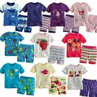 "NWT Baby Toddler Kid's Clothes Boys Girls Sleepwear Pajama Size 12M-4T ""Short"""