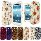 NEW SOFT SILICONE PRINTED CASE COVER FOR SAMSUNG GALAXY S3 III i9300+SCREEN FILM