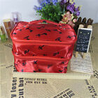 "A"" Fashion PU Cloth Double Level High-Heeled Style Cosmetic Handbag Storage Bag"