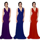 Trailing Long Evening Formal Bridesmaid Prom Dress 09008 Size 6 8 10 12 14 16 18