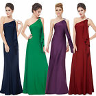 Ever-Pretty Gorgeous One Shoulder Diamantes Long Evening Dress 09463