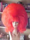 SIN CITY WIGS BIG TEASED HAIR DRAG QUEEN DOUBLE FUN FLUFFY FLIP PICK A COLOR!