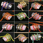 Cuttable 3D Alloy Rhinestone Nail Art Tips Chain Jewelry Charms Cell Phone Decal