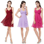 Lovely Blue Red Short Party Cocktail Bridesmaid Dress Prom Homecoming Gown 03266