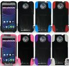 ZTE Vital N9810 / Supreme (Sprint) Phone Cover Case T-STAND + Screen Protector