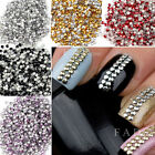 Nail Art Metallic Studs 500-1000pcs 3D Design Gold & Silver Manicure Decoration